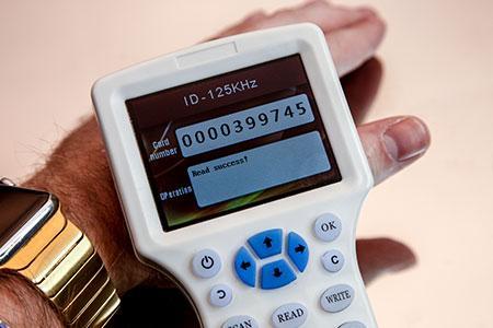 RFID Reader/Cloner System