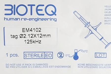 RFID BioGlass Impant Kit